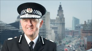 Merseyside Chief Constable Jon Murphy