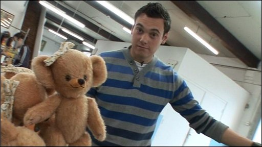 Joe and a teddy