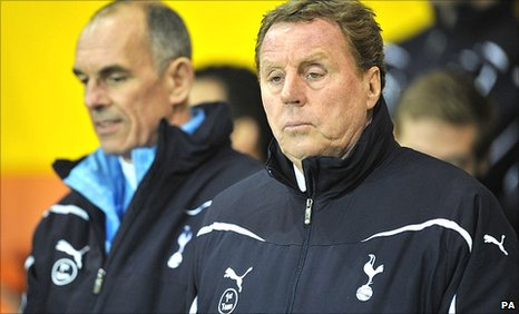 Harry Redknapp (right) and Joe Jordan