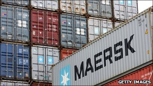 Maersk containers