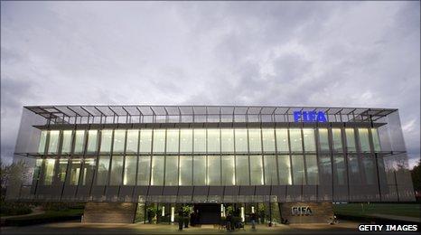 Fifa headquarters in Zurich, Switzerland