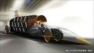 Bloodhound chassis