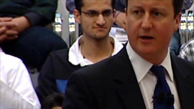 Prime Minister Britain David Cameron