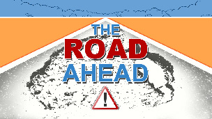The road ahead graphic