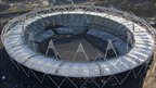 Olympic Stadium from above