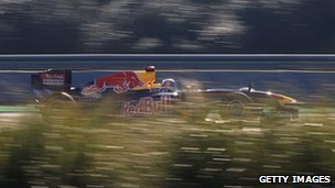 Red Bull Racing, winter testing at the Circuito de Jerez, 12 February, 2011