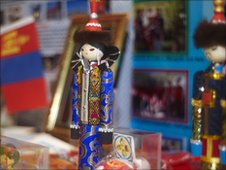 Mongolian dolls. Photo copyright Matt Grayson.