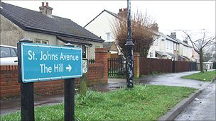 St John's Avenue in Old Harlow