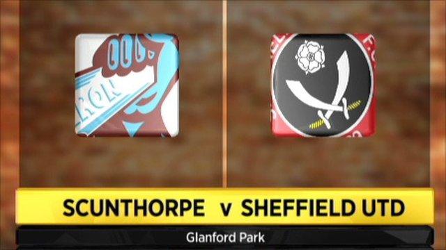 Scunthorpe 3-2 Sheffield United