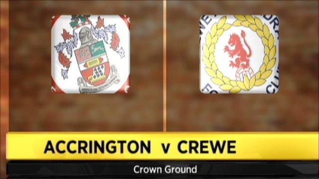 Accrington 3-2 Crewe