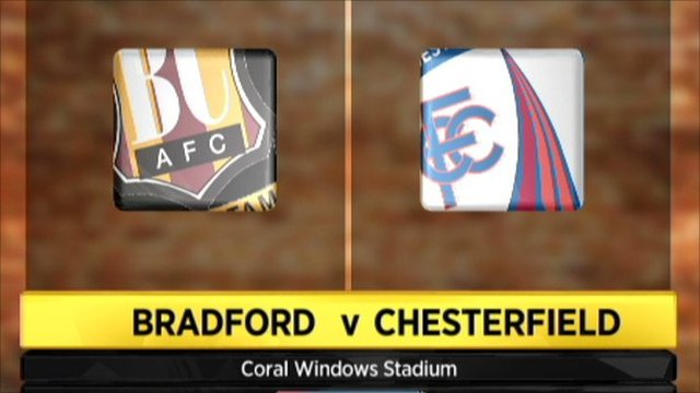 Bradford v Chesterfield