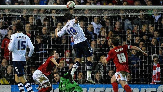 Billy Jones scores Preston's late equaliser at Nottingham Forest