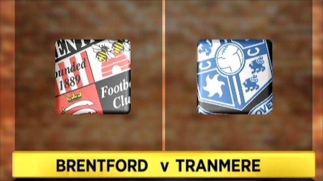 Brentford v Tranmere
