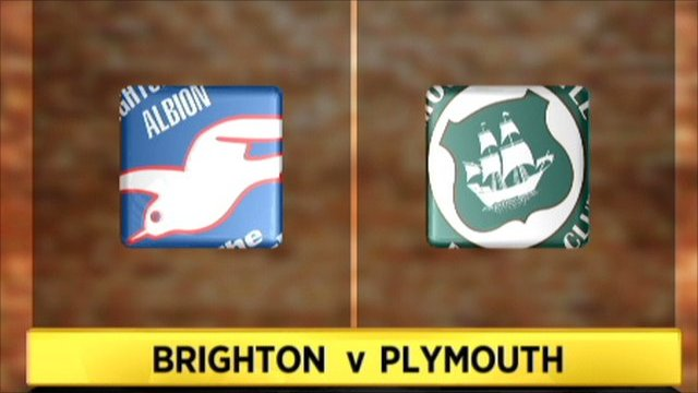 Brighton v Plymouth