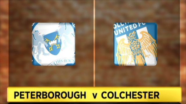Peterborough v Colchester
