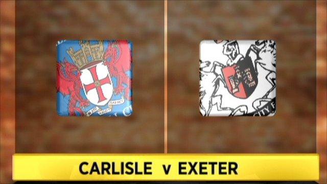 Carlisle 2-2 Exeter