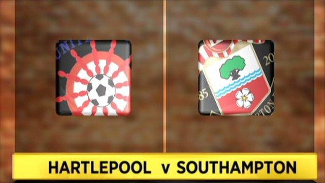 Hartlepool 0-0 Southampton