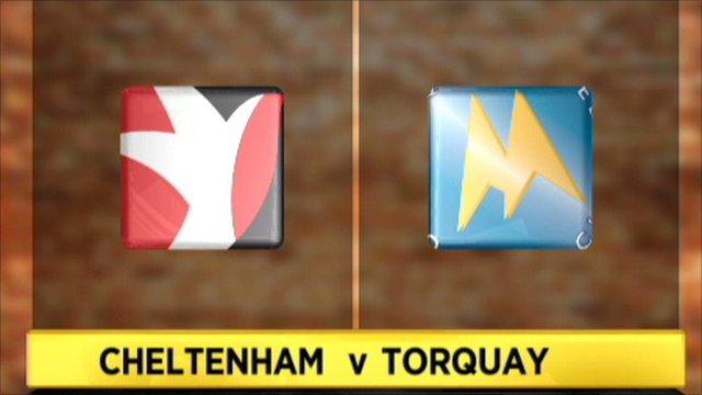 Cheltenham 2-2 Torquay