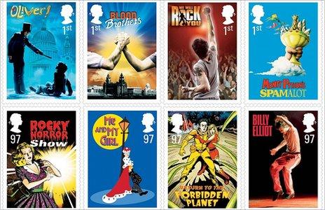 British Musicals - Put A Stamp On It!