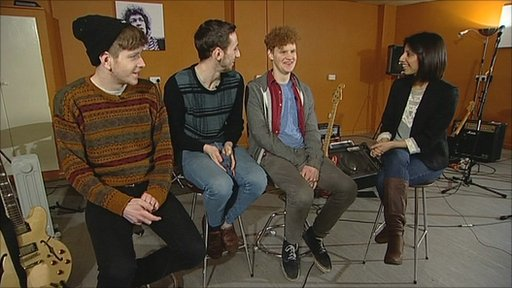 Nottingham indie band Dog Is Dead chat to the BBC's Geeta Pendse about their past, present and future
