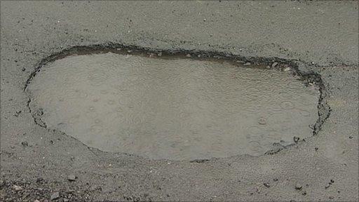 Northumberland pothole