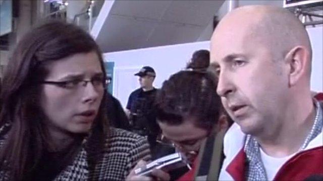 Man recently returned from Libya