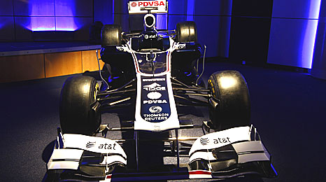 The colours of the 2011 Williams are revealed
