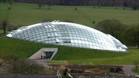 The Great Glasshouse at the National Botanic Garden of Wales