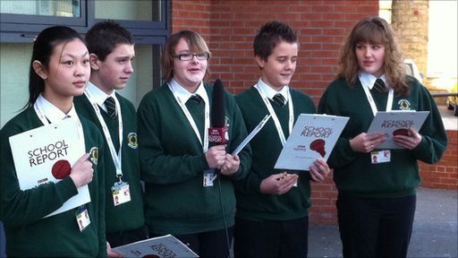 Wickersley School Reporter prepare for their film