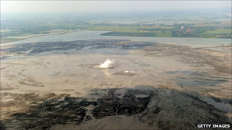 Lusi mud volcano, East Java (Image: Getty Images)
