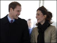 Tywysog William a Kate Middleton