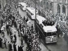 Birmingham City returning home after defeat to Manchester City