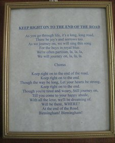 The Blues anthem 'Keer Right On'