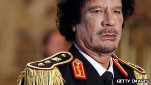 Col Muammar Gaddafi in Rome (June 2009)