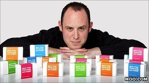 Moo founder Richard Moross