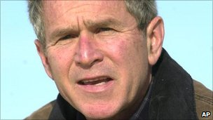 The Texas home of former US President George W Bush was allegedly among targets eyed