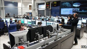 ATV mission control (Esa)