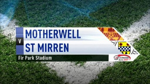 Highlights - Motherwell 0-1 St Mirrren