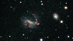 Gas-rich galaxy F549-1