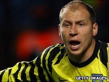 Brad Guzan made his Hull debut against Leicester on New Years Day