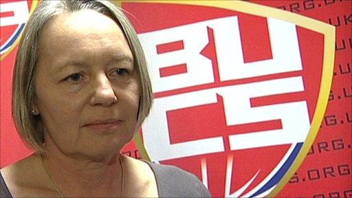Karen Rothery, Chief Executive of British Universities & Colleges Sport