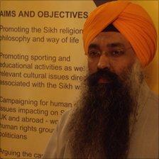 Dabinderjit Singh, advisor to the Sikh Federation