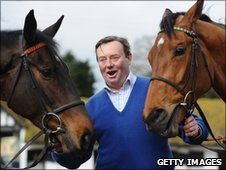 Long Run and Binocular with Nicky Henderson