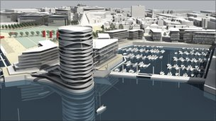 How the Royal Pier development would look