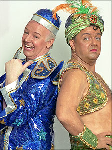 Les Dennis and Ricky Gervais