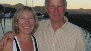 Susan Selway with her father Malcolm Selway