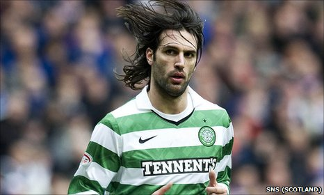 Celtic striker Goergios Samaras