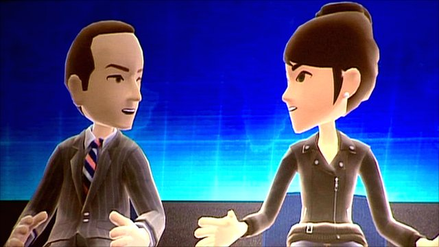 Rory Cellan-Jones's avatar interviews Microsoft executive Reena Kawal's avatar