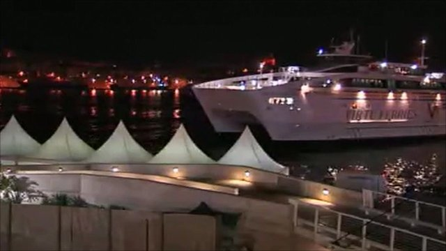 Ferry arrives in Malta
