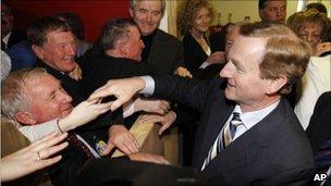 Fine Gael leader Enda Kenny (26 Feb 2011)